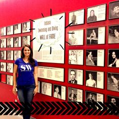 The IUPUI hall of fame wall!! Hallway Wall Decor, Office Wall Decor, Office Walls, Office Pictures, Blog Pictures, Picture Wall, Photo Wall, Corporate Values, Business Office Decor