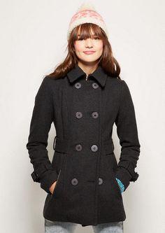 7e483f88fe0 Zip Pocket Peacoat - Peacoat - Outerwear - dELiA s (NAvy) Sweater Weather