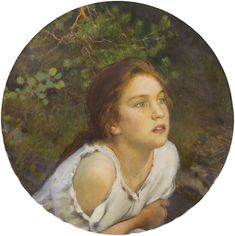 View Forest Girl By Eero Järnefelt; Access more artwork lots and estimated & realized auction prices on MutualArt. Nordic Art, Scandinavian Art, Paintings Famous, Forest Girl, River Bank, Pre Raphaelite, Art Database, Modernism, Historian