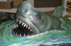 Make a Shark Cake   BTW, if you have a question about a particular wedding trend, go ahead ...
