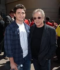Frankie and his son Francesco
