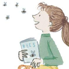 Jacqui Clark Art – Illustration and Design Clark Art, Cinderella, Disney Characters, Fictional Characters, Illustration Art, Bee, My Arts, Disney Princess, Design