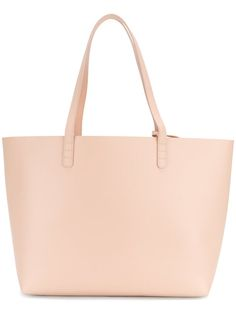 Mansur Gavriel Large Tote In Pink Shopper Tote, Tote Bag, Vegetable Tanned Leather, Large Tote, Pink Leather, Italian Leather, Brand You, 5 D, Women Wear
