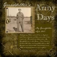 Grandpa's Army Days