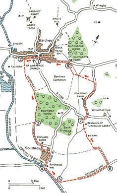 Bardney walk St Lawrence, Short Break, Ancestry, Walks, Lincoln, City, Cities