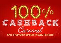 Shopclues 100% Cashback Carnival : Get 100% Cashback on all Products - Best Online Offer