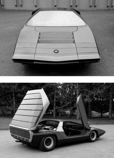 Alfa Romeo Carabo concept car (1968) styled by Bertone