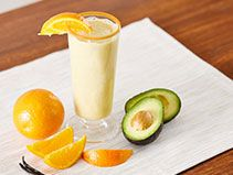 Did you know Silk® has a ton of tasty recipes, like this one for Ali's Orange Squeeze Smoothie Mocha Smoothie, Orange Smoothie, Avocado Smoothie, Smoothie Drinks, Healthy Smoothies, Smoothie Recipes, Healthy Foods, Yummy Drinks, Yummy Food