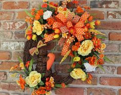 Spring Bunny grapevine wreath Bunny by ShellysChicDesigns on Etsy