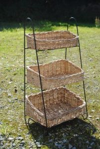 Vintage French Vegetable baskets available at www.theoriginalfrenchfurniturecompany.com