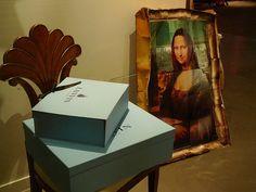 hello Mona, pinned by Ton van der Veer