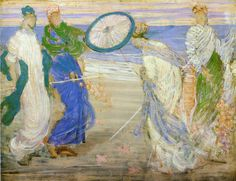 The Athenaeum - Symphony in Blue and Pink (James Abbott McNeill Whistler - ), Freer Gallery of Art - Washington DC, circa 1870