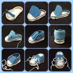Crochet Converse Baby Booties Pattern Free Video Tutorial Crochet Baby Converse Free Pattern More Knitting works add the time when ladies spend their time to yourself, when they . Crochet Converse, Crochet Baby Shoes, Crochet Baby Booties, Crochet Slippers, Crochet Clothes, Baby Slippers, Crochet Booties Pattern, Baby Shoes Pattern, Knitted Baby
