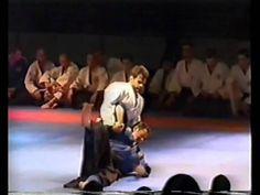 Aggressive Aikido techniques demonstration
