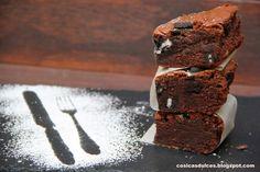 Brownie de oreo | Cocina