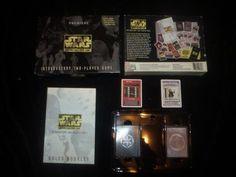 STAR WARS 1995 PREMIERE 2 PLAYER CARD GAME W UNIQUE LUKE VADER CARDS