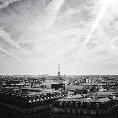 Paris view (Paris, France)