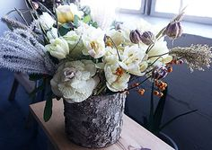 How To Make A Winter Floral Arrangement | Molly Sims