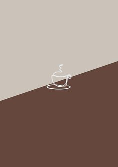 One line coffee time