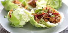 Vibrant and zesty, honey-lemon chicken pairs beautifully with butter leaf lettuce and a crisp slaw made of colored carrots. If desired, add a bit of sticky rice into the bottom of your lettuce cups for a satisfyingly light dinner or easy appetizer. YIELD: 2 servings PREP TIME: 5 minutes TOTAL TIME: 15 minutes Directions: 1. …