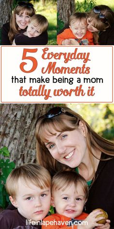 5 Everyday Moments that Make Being a Mom Totally Worth It - Life in Lape Haven. While parenting can be hard, there are moments with your children, like hidden treasures, throughout even the worst days that make being a mom or dad the best calling ever.