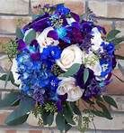 navy blue and silver wedding bouquet - Bing Images