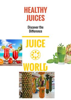 Juice World: http://juiceworld.com.sa/  - top quality juice center for fresh fruit juices and vegetable juices in KSA.