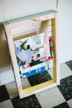 tijdschriftenrek
