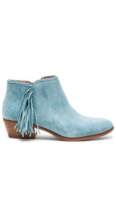 e3545bd128538 Shop for Sam Edelman Paige Bootie in Blue Suede at REVOLVE. Free 2-3