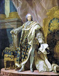 Louis XV Roi de France et de Navarre Louis Michel van Loo, century. Louis Xiv, Roi Louis, Versailles, Rms Titanic, French History, Art History, Bourbon, Royal Families, Architecture Sketches