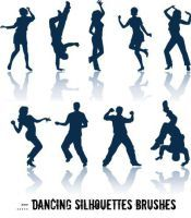 ....:: Dancing Brushes ::.... by abhijeet