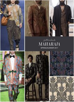 MAHARAJA » Etro / Alexander McQueen / The Kooples / Gucci / Alexander McQueen / Paisley 2 by Nataliia Kravchata / Jacquard Paisley by Pen N Paint