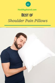 Shoulder pain doesn't have to be a fact of life. There is way to relieve the nagging discomfort and we think that a shoulder pain pillow is one of the Look After Yourself, Sciatica, Survival Tips, Healthy Tips, Healthy Lifestyle, Muscle, Mens Tops, Recovery, Muscles