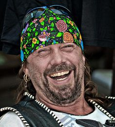 ...happy smiles from biker, USA...