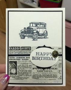 Lots more details about this card with measurements on the blog if you need them!  Have a wonderful day!  http://stampinfunwithselene.blogspot.com/2015/02/219-stampin-up-guy-greetings-40-days-of.html
