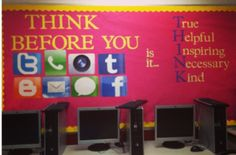 "High School Bulletin Board - would be great for applying to ""media and persuasion"" unit (grade 11 English)"