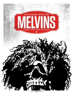Awesome Melvins poster art