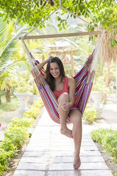 Summerfeeling  Thats our Hangingchair / Hängestuhl Arabica Jacquard   #hammock #hammockchair #hanginchair #hängestuhl #summer #garten