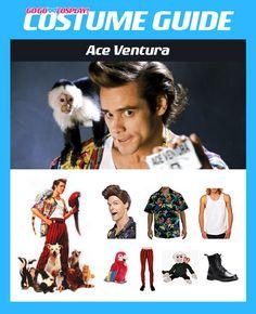 Ace Ventura Costume Guide Funny Kid Halloween Costumes, Halloween 2018, Halloween Cosplay, Diy Costumes, Cosplay Costumes, Costume Ideas, Ace Ventura Costume, Ace Ventura Fancy Dress, Cosplay Diy