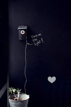 Turn on the light!