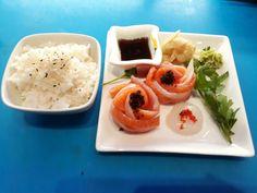 Midium sashimi i sushiwoki