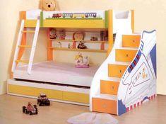 Детская кровать-чердак для троих детей