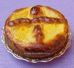 Pasca sau prajitura cu branza dulce, fara aluat - Bunătăți din bucătăria Gicuței
