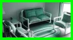 PVC PASSO A PASSO: Sofá 2 lugares esquema para montagem.