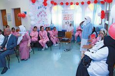 Primary Health Care Corporation (PHCC) marked the Nursing Day in most of its Health Centers during last week to mark the important role played by nurses in the healthcare service.