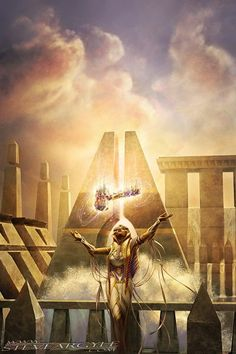 Forsake the Worldly - Amonkhet MtG Art, Dungeons and Dragons, D&D, DnD