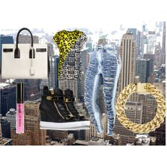 """""""city barbie"""" by reviewingmami on Polyvore"""