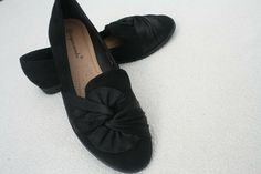 Womens Black Bow Design Flats Pumps Ballerina Shoes Size UK 6 Faux Suede Slip-on Bow Design, Pumps, Ballerina Shoes, Suede, Moccasins, Loafers, Slip On, Flats, Best Deals