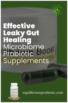 The most effective leaky gut healing microbiome probiotic supplements. Heal leaky gut syndrome and other intestinal issues with effective microbiome vegetarian multi-strain probiotic supplements with prebiotics that promote complete digestion. Get rid of gas, bloating, and constipation while boosting your energy. Use code TAKE20DG for 20% off from Equilibium Probiotic. #probiotics #leakygut #probioticsupplements #dietarysupplements Probiotic Brands, Probiotic Supplements, Getting Rid Of Gas, Leaky Gut Syndrome, Gut Bacteria, Gut Health, Improve Yourself, Vegetarian, Healing