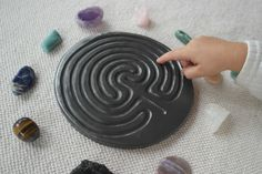 The Finger Labyrinth ⋆ The Indigo Teacher Peace Studies, Right Brain, Brain Activities, Finger, Indigo, Teacher, Google, Fit, Image